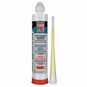 Anchoring Acrylic,2 Part,10 Oz Cartridge