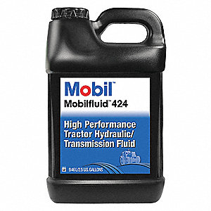 Mobilfluid 424, Tractor Hydraulic, 2 5 gal