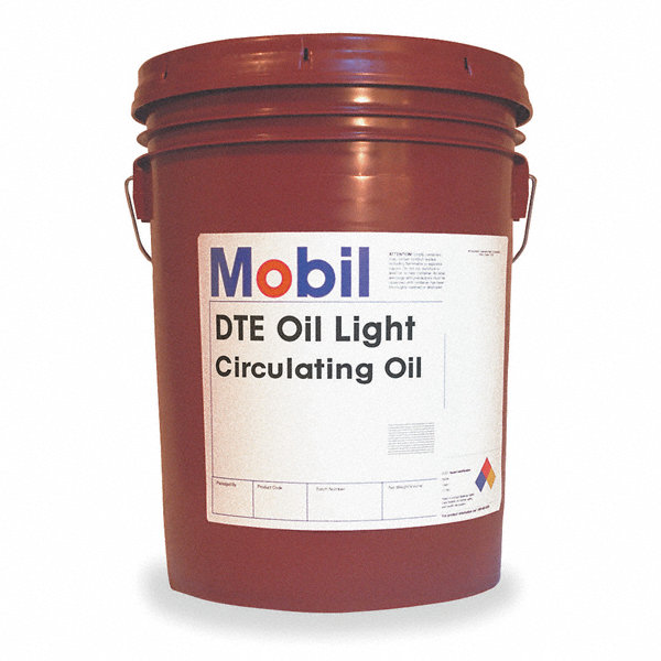 mobil dte oil light premium circulating oil 5 gal. Black Bedroom Furniture Sets. Home Design Ideas