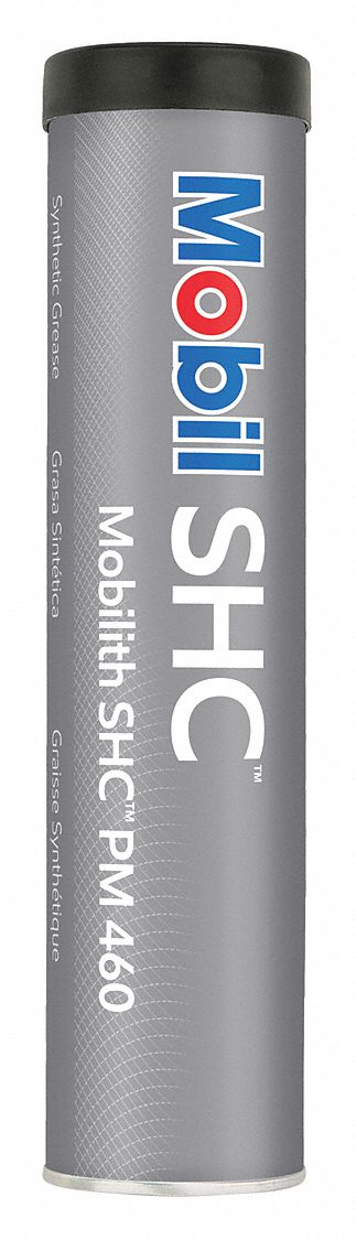 Mobilith® SHC® PM 460,  White,  Lithium Complex,  Multipurpose Grease,  13.7 oz,  1.5 NLGI Grade