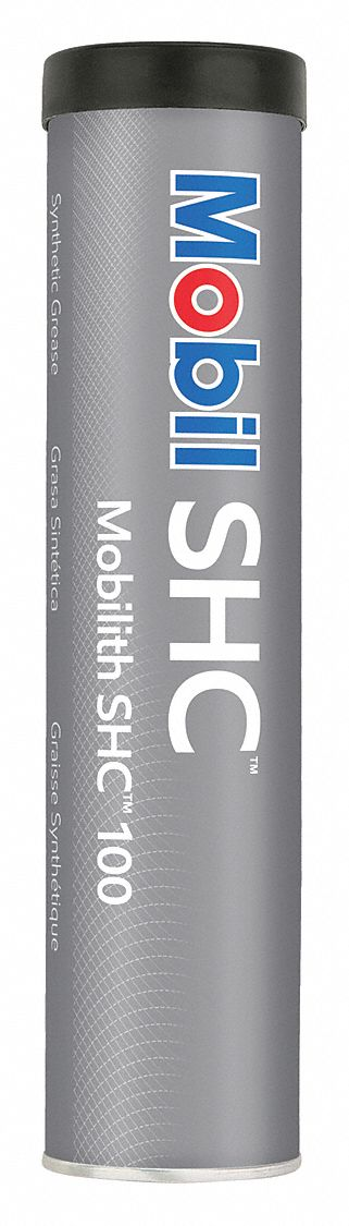 Mobilith® SHC® 100,  Red,  Lithium Complex,  Multipurpose Grease,  13.4 oz,  2 NLGI Grade