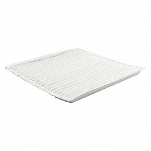 Air Filter,8-15/32 x 21/32 in.