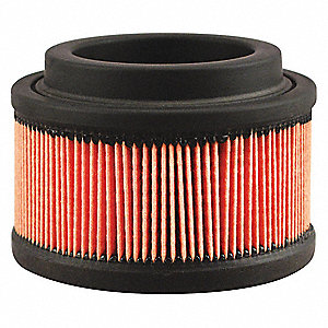 "Air Filter, Round, 2-7/8"" Height, 2-7/8"" Length, 4-5/32"" Outside Dia."