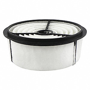 Air Filter,6-25/32 x 2-23/32 in.
