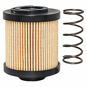"Hydraulic Filter,Element Only,3-5/8"" L"