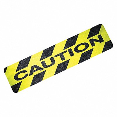 4ZH08 - Anti-Slip Cleat Caution Blk/Yellow PK24