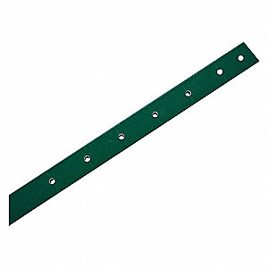 "U-Channel Sign Post, Breakaway Feature: No, 96""L, Composite, Green"