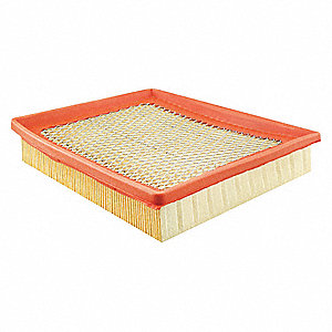 "Air Filter, Panel, 1-19/32"" Height, 7-7/8"" Length"