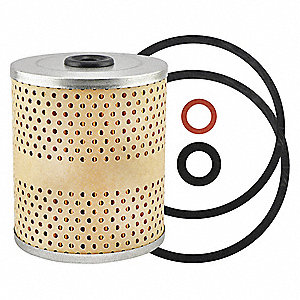 Oil Filter Element, Spin-On Filter Design
