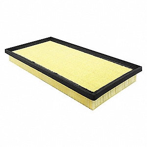 "Air Filter, Panel, 1-17/32"" Height, 13-5/16"" Length"