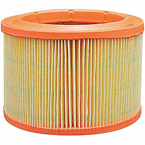 Air Filter,6-5/8 x 4-27/32 in.