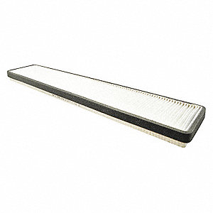 "Air Filter, Rectangular, 1-1/8"" Height, 20-11/32"" Length"