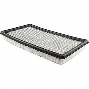 Air Filter,7-1/16 x 1-7/16 in.