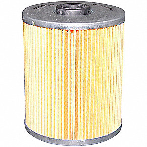 "Hydraulic Filter,Element Only,8-7/16"" L"