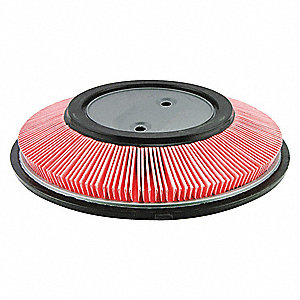 "Air Filter, Round, 2-3/8"" Height, 2-3/8"" Length, 13-1/16"" Outside Dia."