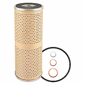 "Spin-On Oil Filter Element, Length: 9-5/8"", Outside Dia.: 3-15/16"", Micron Rating: 9"