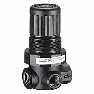 "1/8"" General Purpose Air Regulator , 14 cfm Max. Flow (Regulators)"