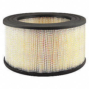 Air Filter,8-1/32 x 4-3/16 in.