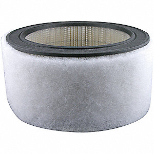 Air Filter,11-7/16 x 5 in.