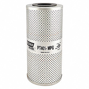 "Hydraulic Filter,Element Only,9-1/8"" L"