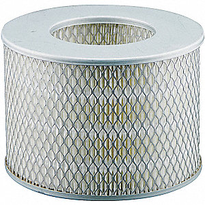 Air Filter,5-23/32 x 3-1/8 in.