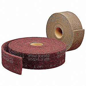 Super Fine Silicon Carbide Abrasive Roll, 30 ft. L X 4""