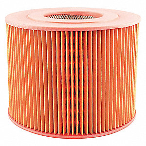 "Air Filter, Round, 5-11/16"" Height, 5-11/16"" Length, 7-17/32"" Outside Dia."