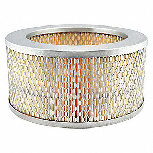 Air Filter,8-1/16 x 4 in.