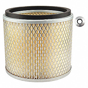 Air Filter,6-7/8 x 6-1/16 in.