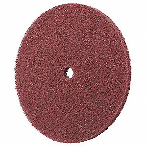 Fiber Disc,6x1/2in,Med,AlO
