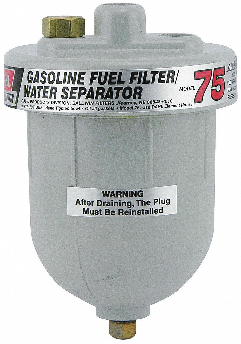Baldwin Filters Fuel Filter Spin On Design 4zra3 75 W30 Model A Grainger