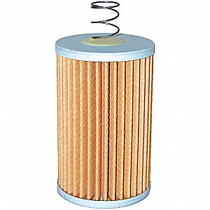 "Hydraulic Filter,Element Only,3"" L"