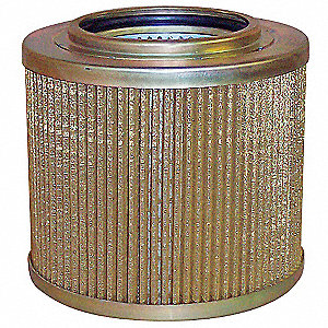 "Hydraulic Filter,Element Only,5-13/32"" L"