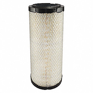 "Air Filter, Radial, 14-5/8"" Height, 14-5/8"" Length, 6-1/2"" Outside Dia."