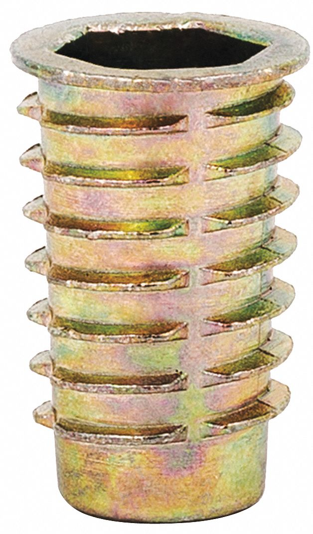 329-6 E-Z LOK Carbon Steel Thread Insert,3//8-16,33//64 L,Pk10