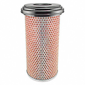 "Air Filter, Round, 13-27/32"" Height, 13-27/32"" Length, 6-17/32"" Outside Dia."