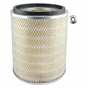Engine Air Filter,Element Only, Round