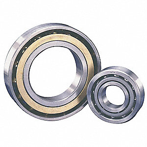 Angular Bearing,40 Deg,40mm Bore,80mm OD