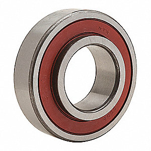 "Radial Ball Bearing, Agricultural Bearing Type, 0.6350"" Bore Dia., 1.5748"" Outside Dia."