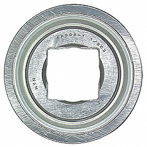 Disc Bearing,1.5 In. Sq. Bore