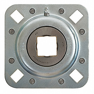 Disc Bearing,Flanged,1.5 In. Sq. Bore