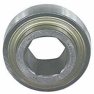 "Hex Bore, Spherical Outer Ring,  1.5000"" Bore Dia., 3.5433"" Outside Dia."