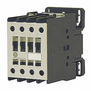 240VAC IEC Magnetic Contactor; No. of Poles 4, Reversing: No, 50 Full Load Amps-Inductive