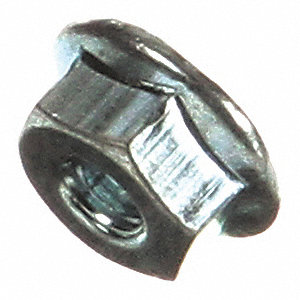 Self-Locking Nut,No.8-32 Zinc