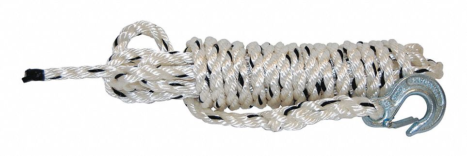 "Rope with Hook, 1/2"" x 20 ft."