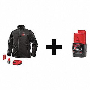 Milwaukee heated jacket 3xl black
