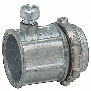"Set Screw Connector,1-1/2"" Conduit"