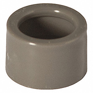 "1"" EMT Insulating Bushing, 49/64"" Overall Length"