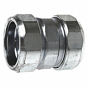 "Compression Coupling,1"" Conduit,Steel"