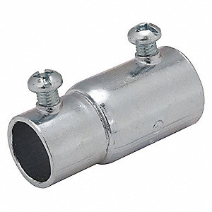 "Combination Coupling,3/4"" Conduit,Steel"